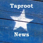Taproot Radio News Logo