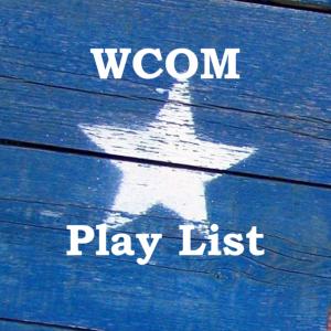 wcom play list logo